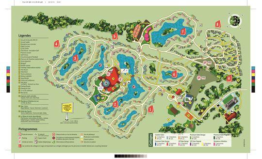 [FR] Le plan de Center Parcs Les Bois Francs  # Plan Center Parc Les Bois Franc